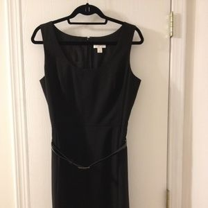 ANN TAYLOR LOFT Little Black Dress with Belt